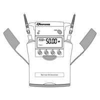 Kingfisher Variable Optical Attenuator, Handheld